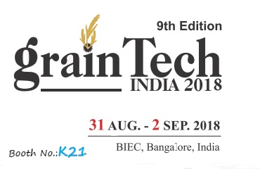 Bida will join 9th Grain Tech India Exhibition in India